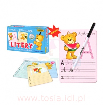 Piszę i zmazuję litery